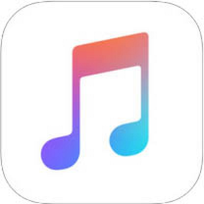 Apple Music icoon op je iPhone of iPad