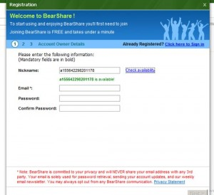 bearshare-registratie