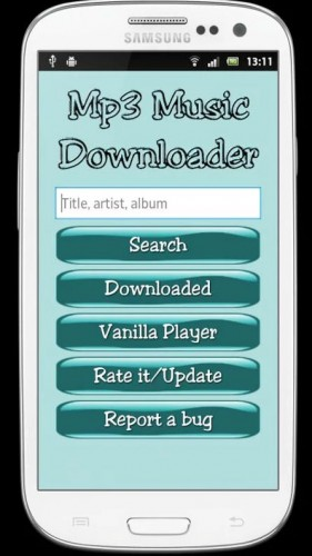 Met de mp3 music downloader app download je snel en gratis mp3 bestanden op je smartphone.