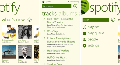 Spotify applicatie nu ook voor Windows 8