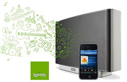 Spotify Software op Sonos